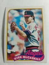 TOPPS 1989 CARD #421 KIRK MCCASKILL - $0.99