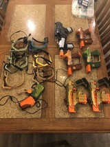 Nerf Tiger Electronic Lazer Tag Gun Team Ops Lot (Some Repair) - $89.99