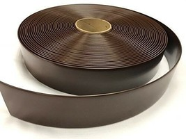 "2""x20' Ft Vinyl Patio Lawn Furniture Repair Strapping Dark Brown + 25 Ri... - $26.18"