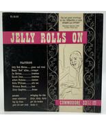 "Jelly Roll Morton Rolls On 10"" Record Commodore 33-1/3 Jazz 21-10 - $18.95"