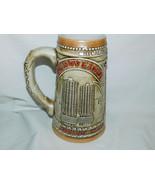 1981 Budweiser Chicagoland Starts Here Marina City Wrigley Bldg Stein - $15.99