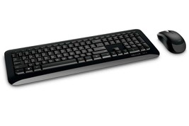 Microsoft Keyboard/Mouse PY9-00002 Desktop 850 Combo Wireless Black with AES Ret - $64.32