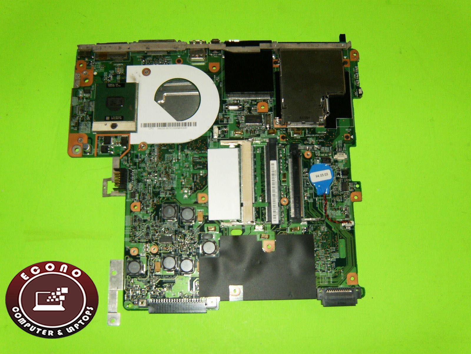 Primary image for HP Pavilion DV4040US DV4000 Genuine Intel Laptop Motherboard 383463-001 (AS IS)