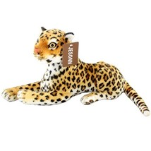 Jesonn Realistic Stuffed Toy Animals Spotted Leopard Calf Plush for Kids... - $18.20