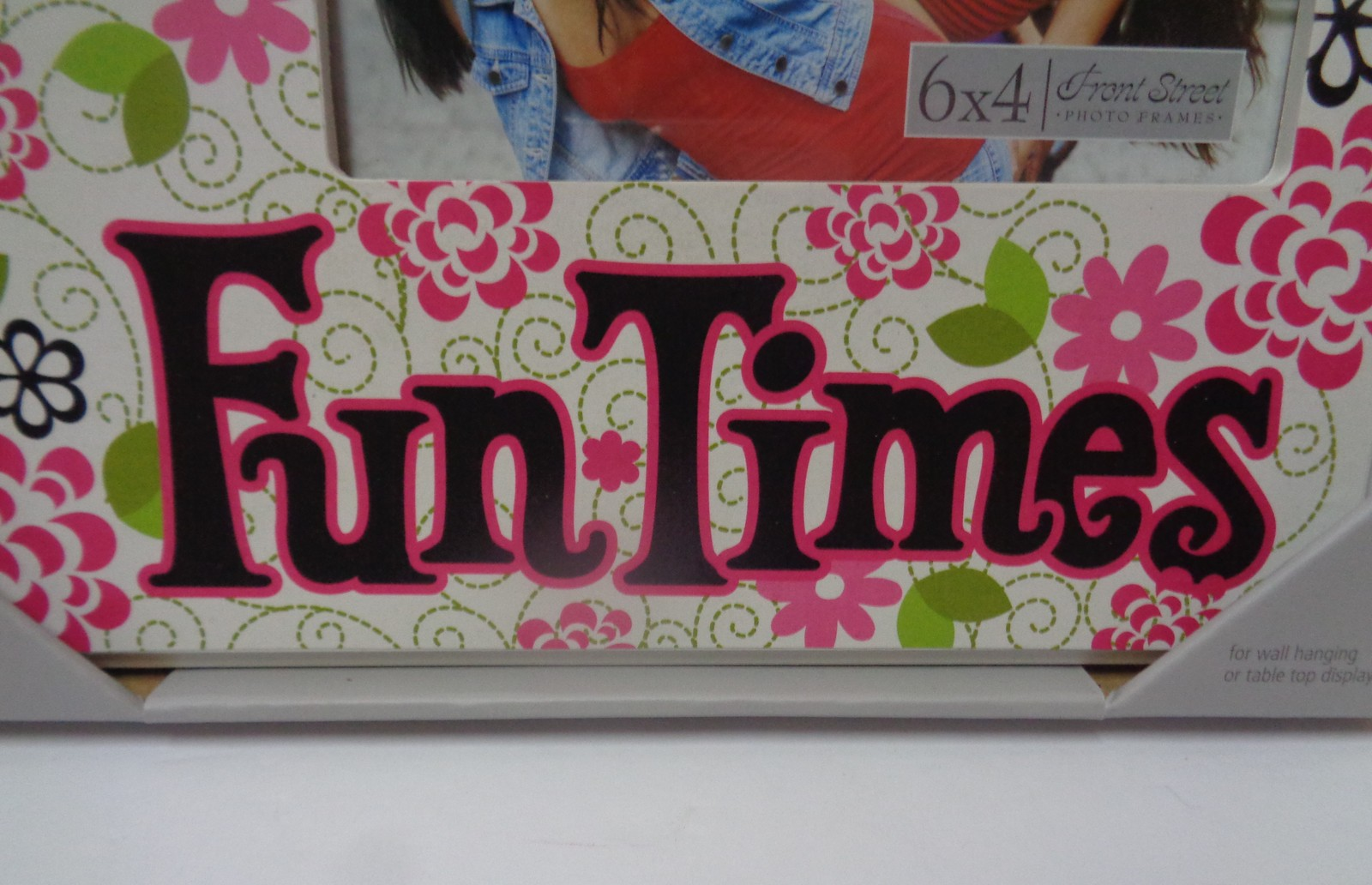 Fun Times Friends Photo Frame NIB Wall or Table Front Street Wood