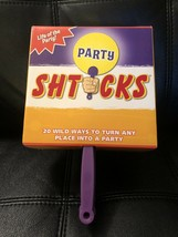Party Shticks Life Of The Party 20 Wild Ways And Adult Games Drinking Game - $25.64