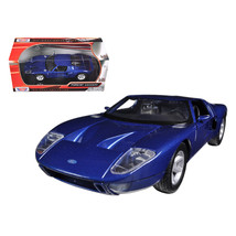 Ford GT Blue 1/24 Diecast Car Model by Motormax 73297bl - $27.72