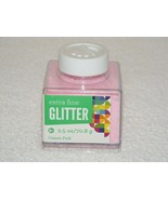2013 SULYN EXTRA FINE CAMEO PINK GLITTER 2.5 oz BOTTLE  - $7.99
