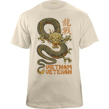Vietnam Veteran Dragon Graphic T-Shirt - $20.78+