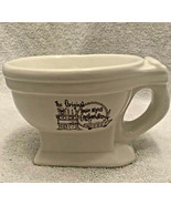Toilet Shaped Mug Bobby McGees Conglomeration Shaving Ice Cream Bowl Uni... - $9.85