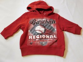 The Children's Place Baby Boy's Long Sleeve Fleece Hoodie 6-9 Months Red NWT - $13.35