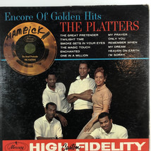 The Platters ‎Encore Of Golden Hits 1960 Vinilo LP Record MG 20472 - $9.79