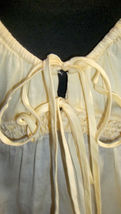 FRENCH CONNECTION pale soft yellow cotton spaghetti blouse 4 (T0503D8G) image 4