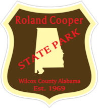 Roland Cooper Alabama State Park Sticker R4898 - $1.45+