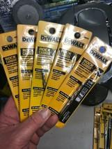 """Lot Of 5 Brand New De Walt 3/16"""" Rock Carbide Hammer Drill Bit 6"""" Long DW5222 - $21.33"""