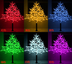 LED Maple Leaf Tree Light Outdoor Wedding Holiday Christmas party Home D... - $216.81