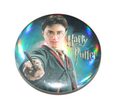 Harry Potter Photo Image with Wand Refrigerator Button Magnet, NEW UNUSED - $3.95
