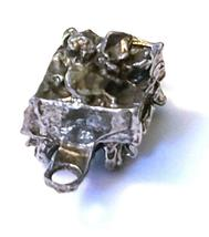ORE CAR FIGURINE CAST WITH FINE PEWTER - Approx. 1 inches tall   (T165) image 3