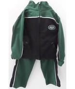 New York Jets Jacket Toddler Track Suit Jacket 3T Reebok NFL Zippered Po... - $18.53