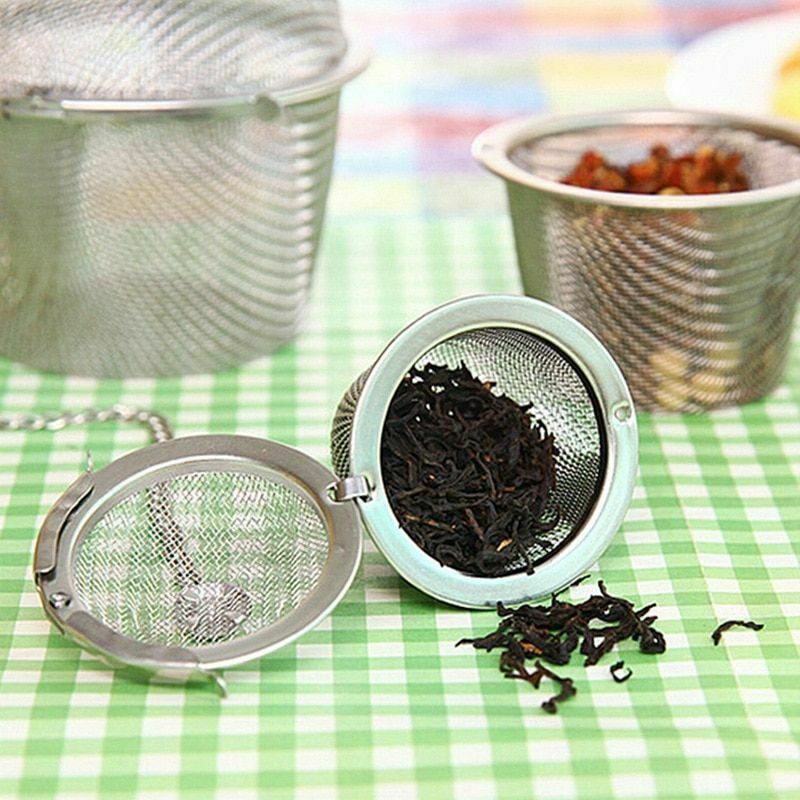 Arshen Tea Infusers Chained Lid Stainless Steel Mesh Ball Filter Strainer Tools image 5