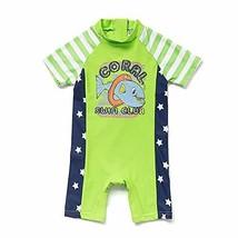 upandfast Baby Boy Swimwear Infant Bathing Suit Kids Swimsuit with Zippe... - $20.02