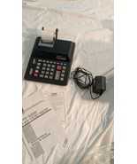 Casio FR-125S-BK 2-Color Professional Desktop Printing Calculator Adding... - $29.70