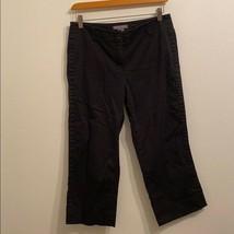 Ann Taylor size 4 solid black pants - $26.20