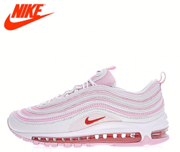 2019 New Arrival Nike AIR MAX 97 OG Women's Running Shoes Pink / Pink - $179.59+