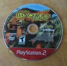 Cabela's Dangerous Hunts (Sony PlayStation 2, 2003) - $1.27