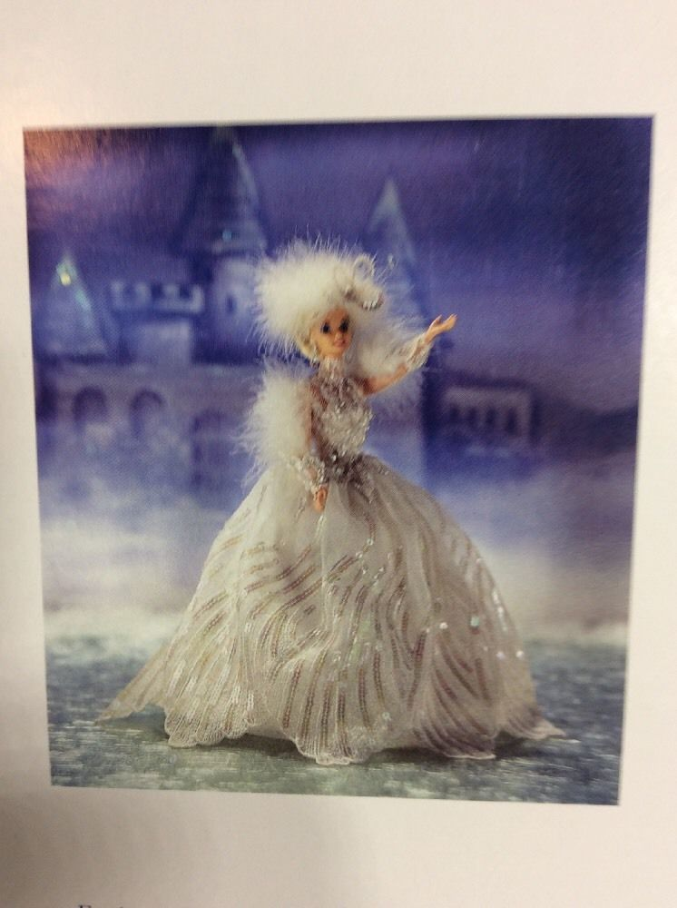 Enchanted Seasons Collection Limited Edition SNOW PRINCESS Barbie Doll NRFB NEW