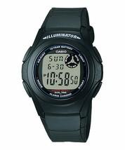 Casio F-200W-1A Youth Series Dual Time Digital Watch - $20.28 CAD