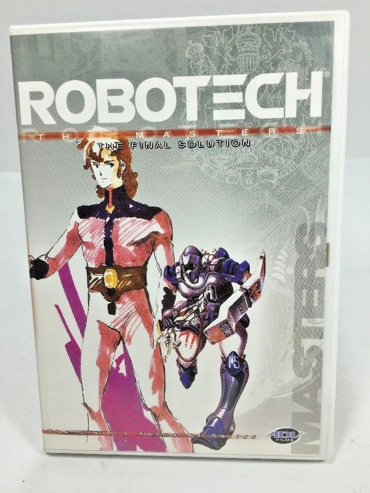 Primary image for Vol. 10 Robotech: The Masters - The Final Solution (DVD,2002) Episodes 55-60