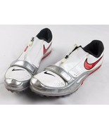 Nike mens 9 track field spike cleats zoom rival brother 2 white shoes 50... - $35.41