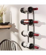 "22"" Iron Wall Wine Bottle Holder - $30.00"