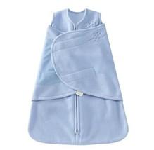 """Sleep sack swaddle blanket baby 3-6M 13-18lbs boy blue fleece 23-26"""" gift - $16.73"""