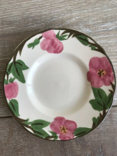 "Set 10 Franciscan Desert Rose Bread Plate 6"" New Modern Stamp Replacement image 3"