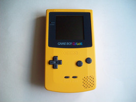 Nintendo GameBoy Color Dandelion YELLOW Handheld System NEW SCREEN COVER - $39.67