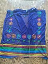 Palmera Mexican Multi Color Beach Cover Up Size CH = Small image 2