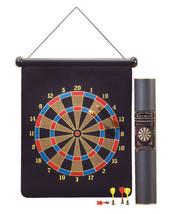 Pool room bar wall magnetic velvet steel dartboard game & tube set, dart... - $16.00