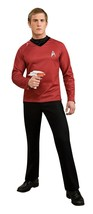 Rubie's Official Star Trek Deluxe Shirt Fancy Dress - Red, Medium #hga - $37.39