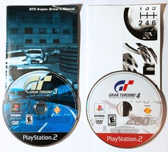 Gran Turismo 3 A-SPEC and Gran Turismo 4 PS2 Playstation 2 Bundle Tested - $11.99