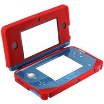 ZedLabz soft gel silicone cover case for Nintendo 3DS protective bumper - Red - $2.99+