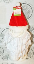 DOG M/L SANTA RED HAT WHITE BEARD PET HOLIDAY CASUAL COSTUME CLOTHING ME... - $5.50