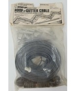 Wrap On Electric Roof Gutter De-ice snow cable 60 Feet 120 Volt 480 Watt - $17.81