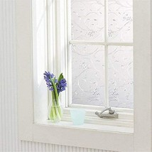 Coavas Window Tints Frosted Window Film Privacy Static Window Cling Reje... - $11.21