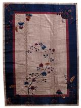 Hand made antique Art Deco Chinese rug 11.4' x 15.8' (347cm x 481cm) 192... - $22,800.00