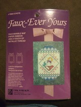 #7808 COYOTE Designs for the Needle Faux-Ever Yours Marble Mat SW Native NIP - $7.83