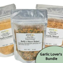 Garlic Lover's Bundle (3-Pack of Organic Spices) - $31.00