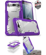 Galaxy J7 Case Military Grade Drop Tested & Tempered Glass Screen Protec... - $21.51