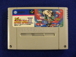 Super Professional Baseball II (Nintendo Super Famicom SNES SFC, 1992) Japan - $3.06